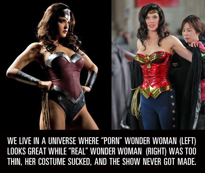 Wonder woman films porno