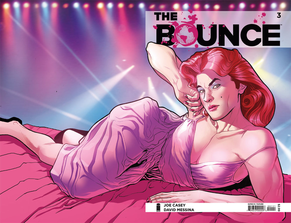 Book & Logo: The Bounce #3