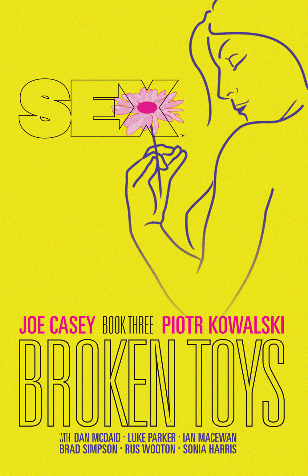 Book & Logo: Sex - Book 3, Broken Toys
