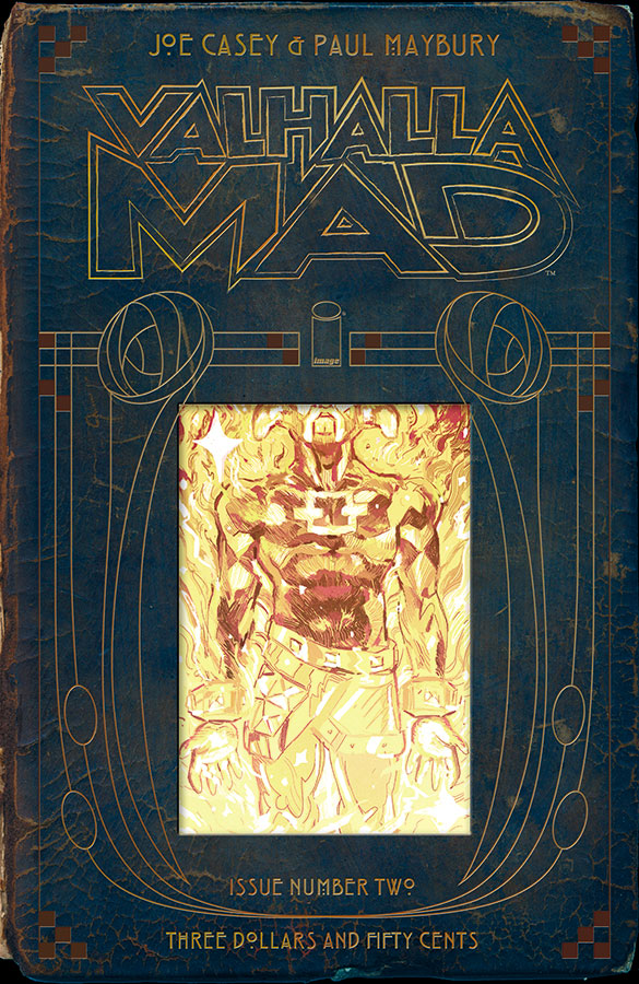 Cover & Logo: Valhalla Mad #2