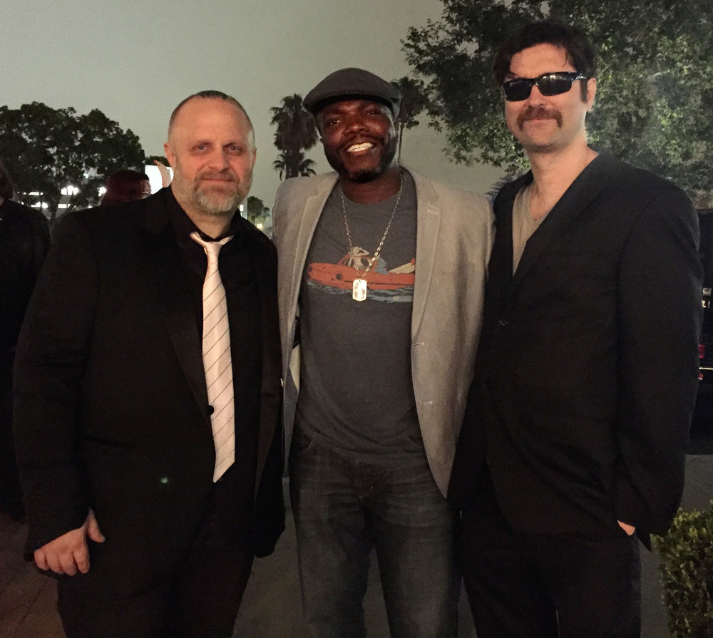 "Director; Shawn ""Clown"" Crahan, actor; Reno Wilson, and writer; Joe Casey"
