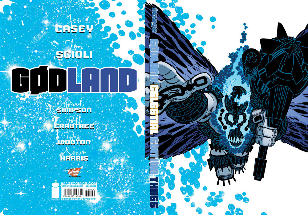 Book & Logo: Gødland Celestial Edition, Vol 3