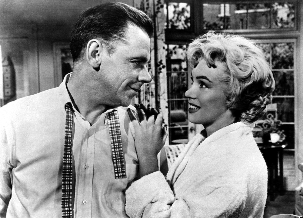 Tom Ewell and Marilyn Monroe (The Seven Year Itch)