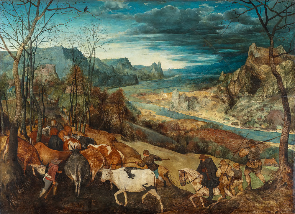 The Return of the Herd, ca. 1565  Photograph © KHM-Museumsverband