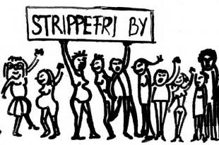 strippefri by