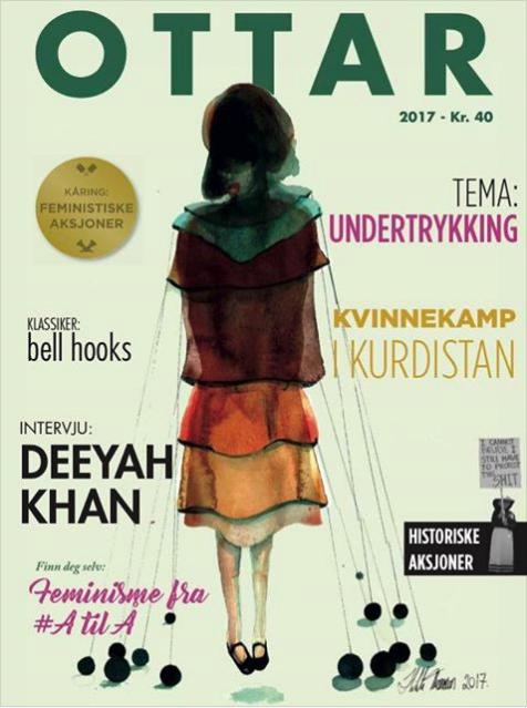 Årets ottarblad har ny layout, og har blant annet kåring av de viktigste aksjonene i 2016 og intervju med Deeyah Kahn.