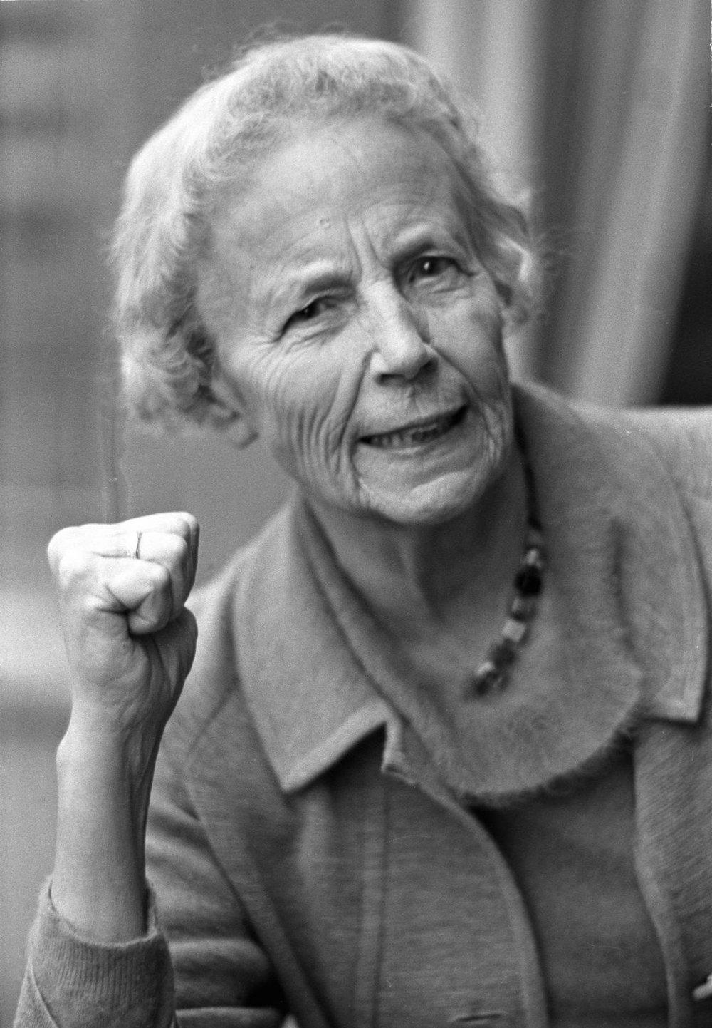 Elise Ottesen-Jensen - også kjent som Ottar.