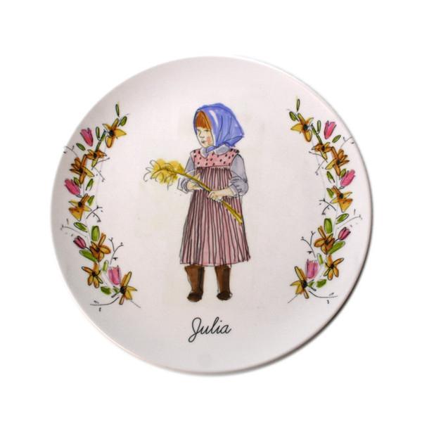 Girl plate