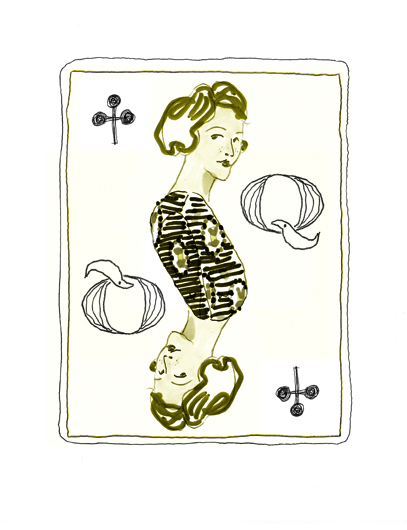 The Queen of Clubs