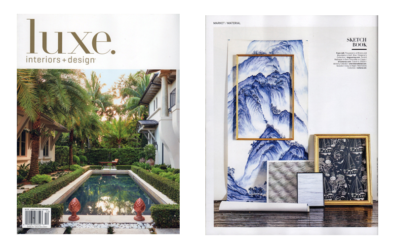 Luxe Magazine - November 2016 - Wallpaper
