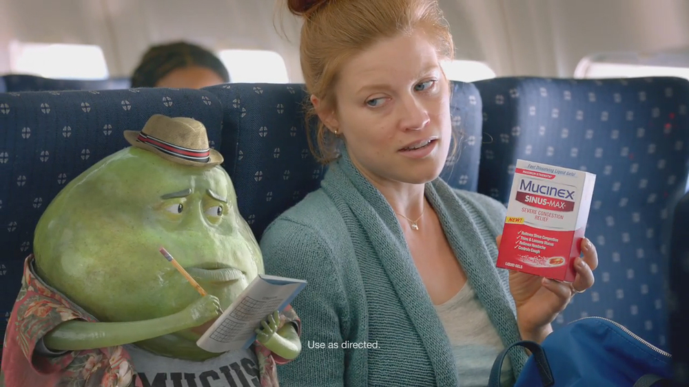 Mucinex: Airplane
