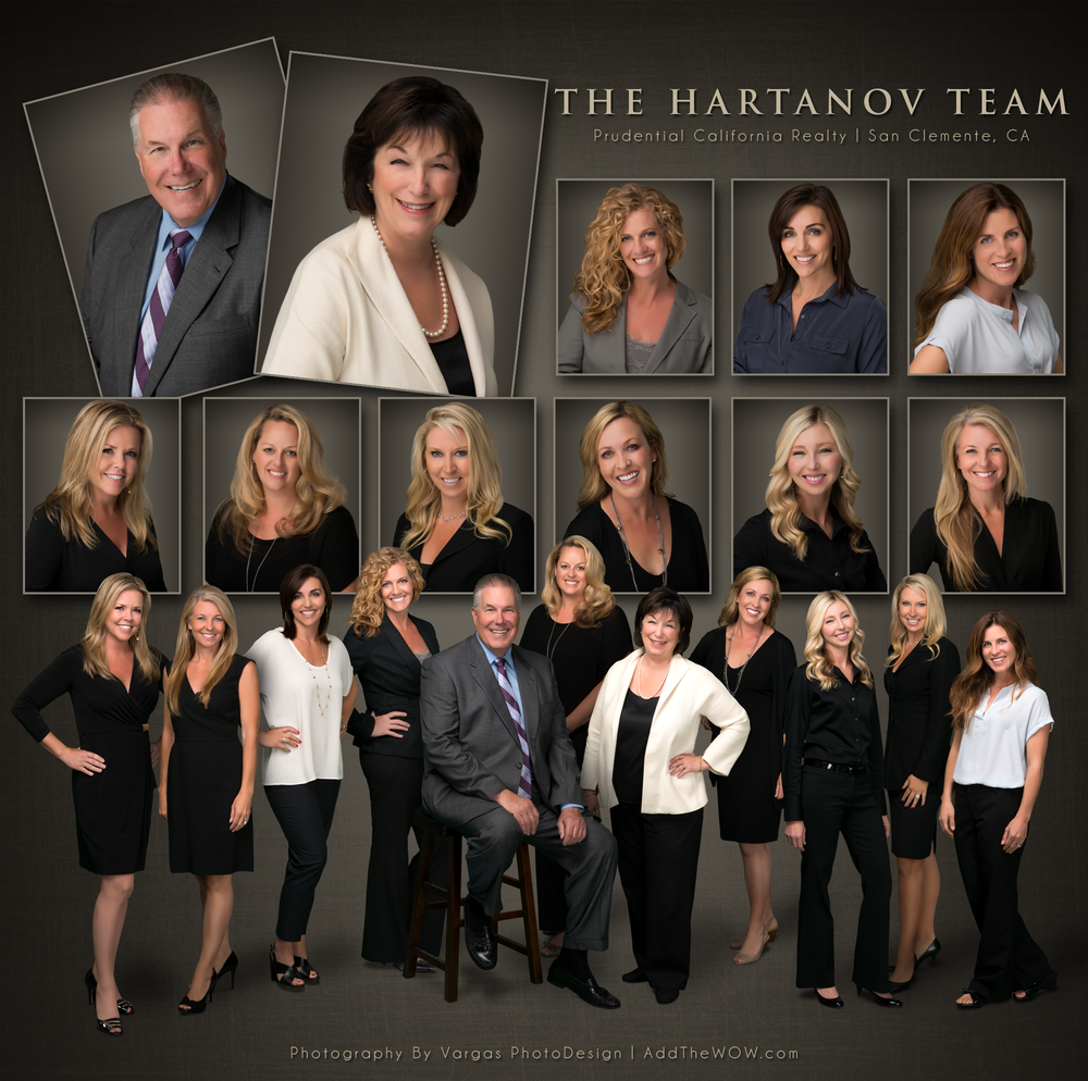 The hartanov team real estate team photo session vargas for Company picture ideas