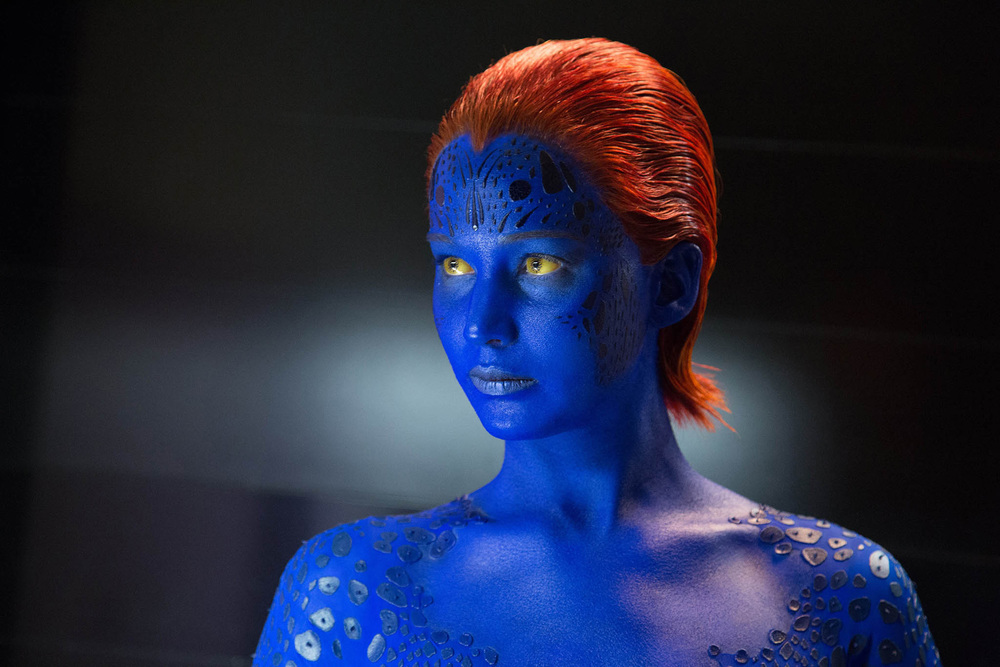 And a random Mystique picture... because Jennifer Lawrence is awesome.
