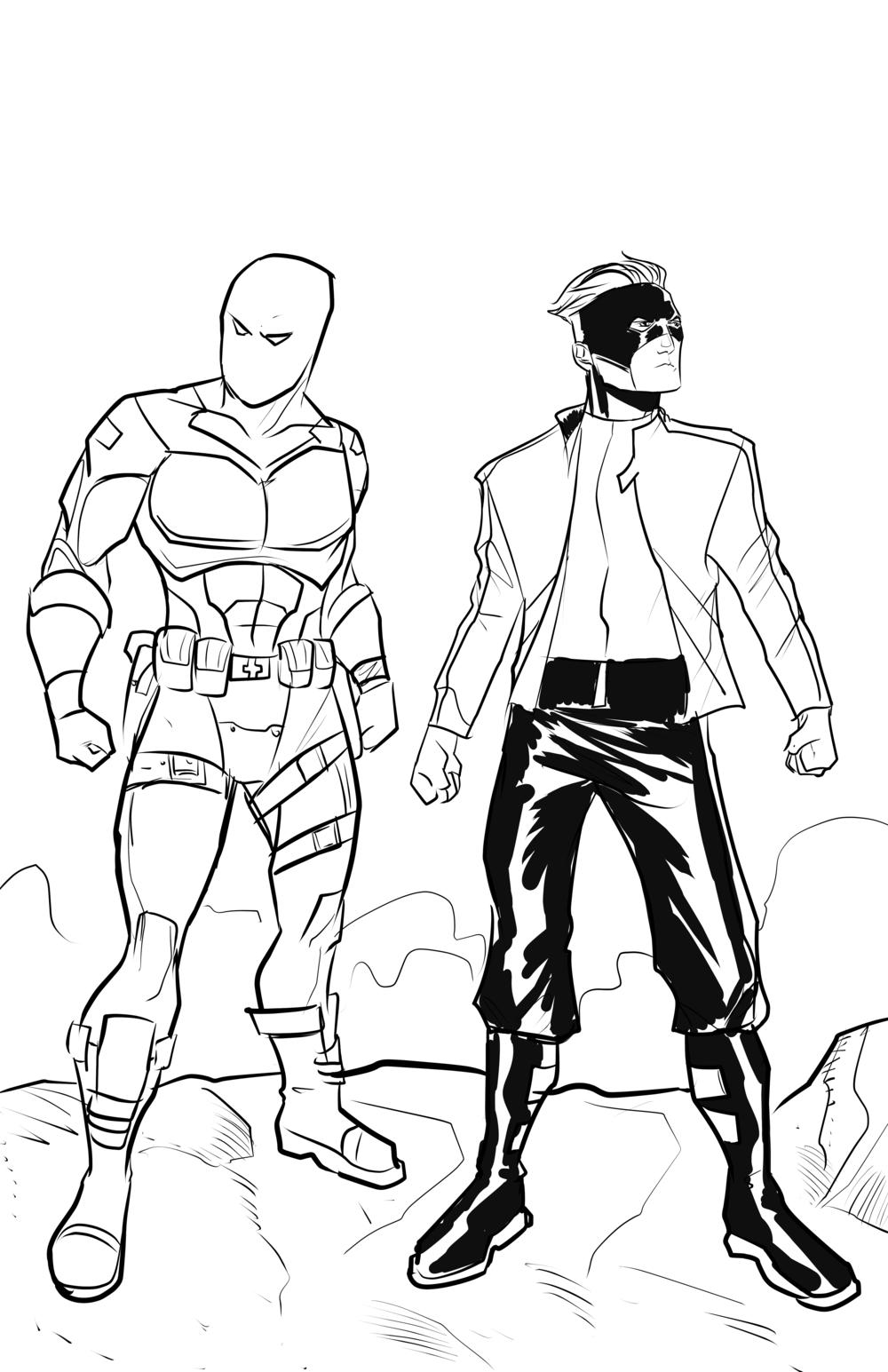 Art by: Joe Eisma   Characters Copyright: Slamfist Media