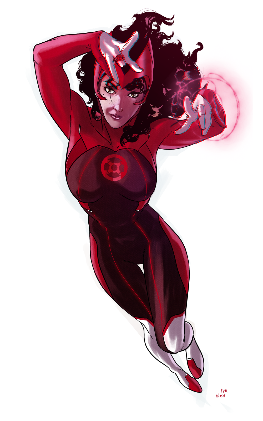 Art by Dima Ivanov.   Scarlet Witch copyright Marvel.