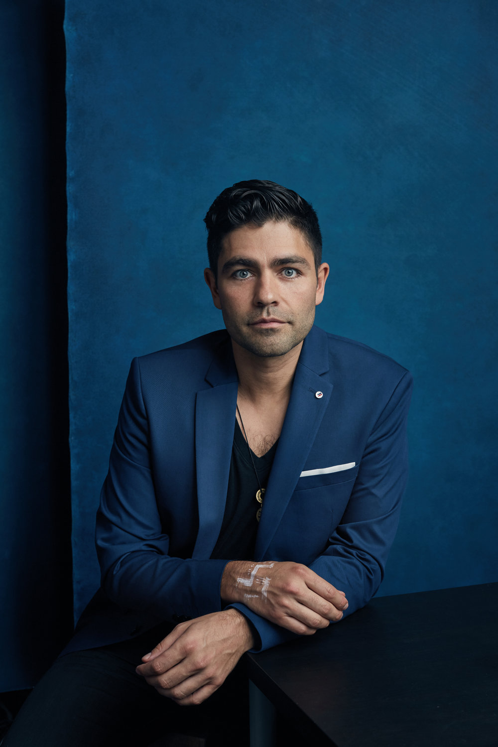 Actor and philanthropist Adrian Grenier.