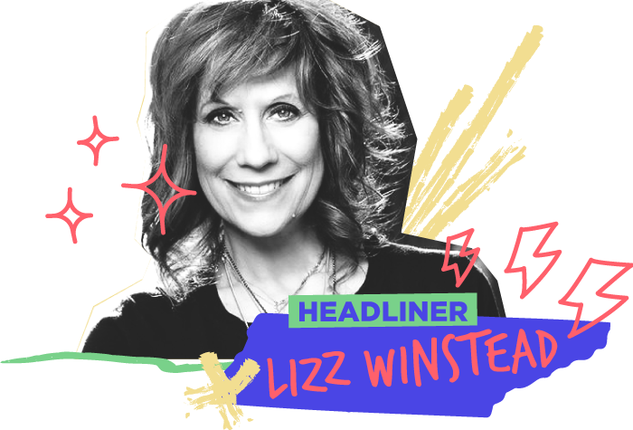"2018 HEADLINER - Lizz Winstead has built her amazing career hilariously responding to the world. As co-creator and head writer of Comedy Central's ""The Daily Show,"" Winstead has forever changed the way people get their news. As co-founder of Air America Radio, she laid the foundation for such personalities as Al Franken and Marc Maron, all while hosting her own show called ""Unfiltered"", sharing the mic every morning with the amazing Rachel Maddow and Hip Hop legend, Chuck D. As a stand-up she continues to tour, bringing her rapid response brand of comedy to theatres across the country and in 2014, was initiated into the Harvard Lampoon.Winstead has now taken her satirical brilliance one step further, combining it with her passion for reproductive justice to form her latest passion project, Lady Parts Justice, a non profit organization made up of comedians, writers and technologists creating videos that use humor and outrage to expose sexist, anti choice local politicians in all 50 state legislatures while providing support to clinics around the country, working to remove the stigma around abortion."