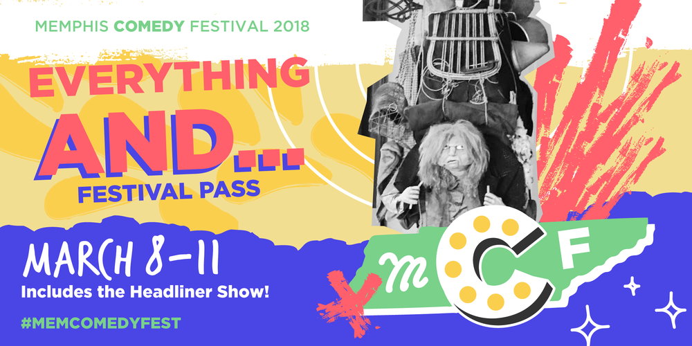 $60 - Access to all ticketed shows for the 2018 Memphis Comedy Festival, **including** the headliner show with Lizz Winstead. Plus an opportunity to say you're a supporter of performing arts in Memphis. Pretty awesome!