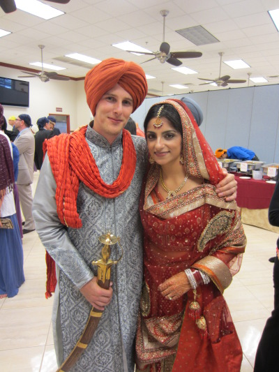 White Woman Marrying Indian Man
