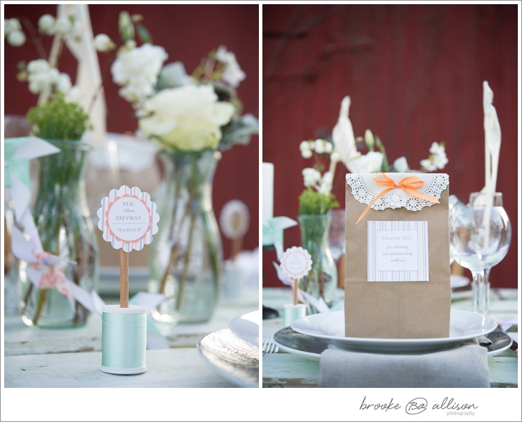 Simple + Stunning Florals from  Fleurescent  in Weck Juice Jars from ACE's  Stock of Stuff