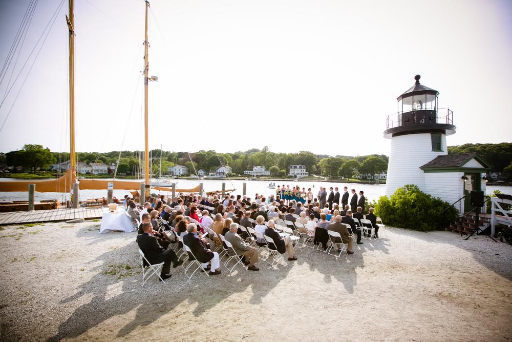 Nautical Wedding Perfection.
