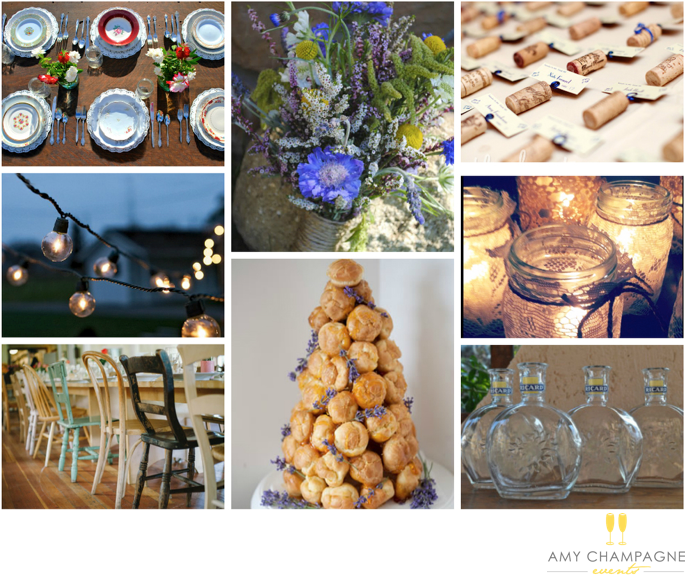 Provence themed wedding lavender amy champagne events.png