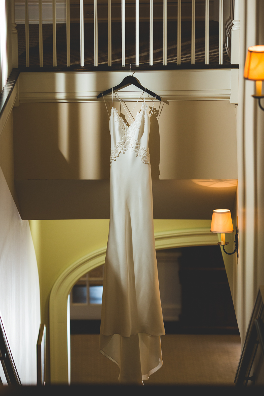 "The ""reception"" gown"