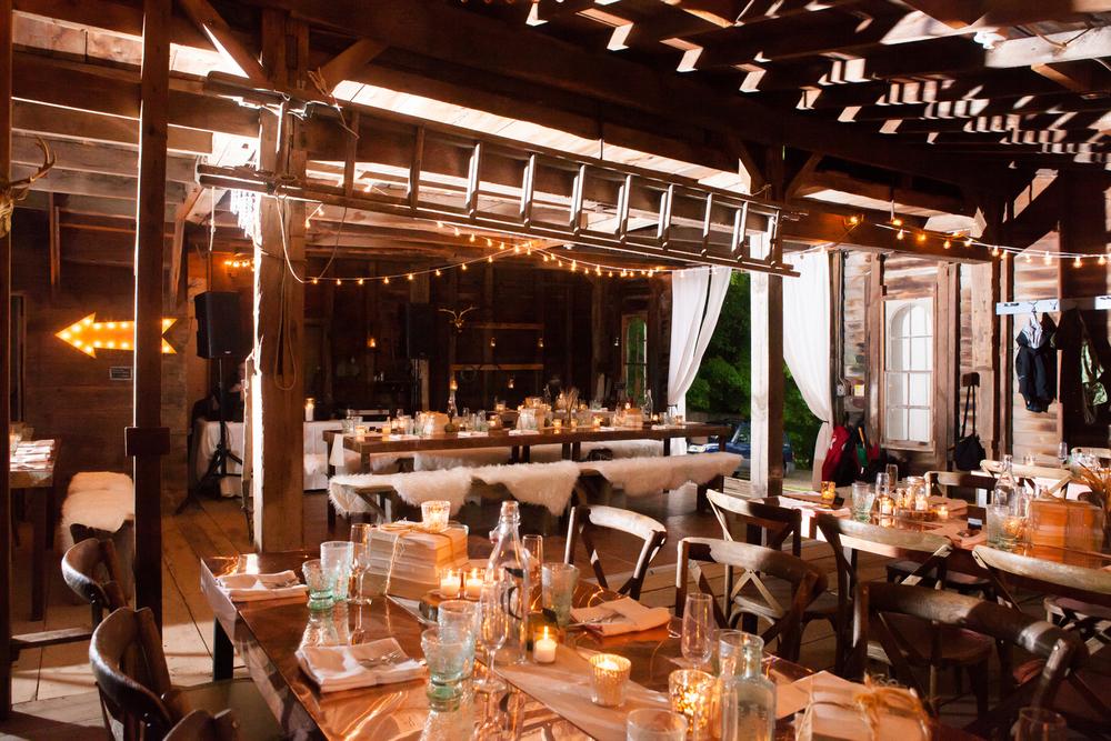 Barn Wedding Rustic Copper table wedding planner CT