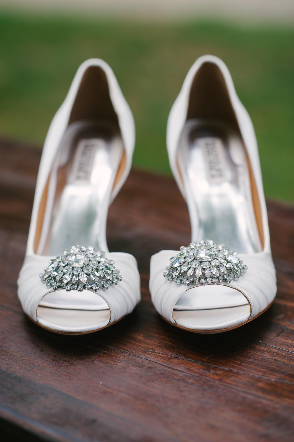 badgley mischka shoes wedding