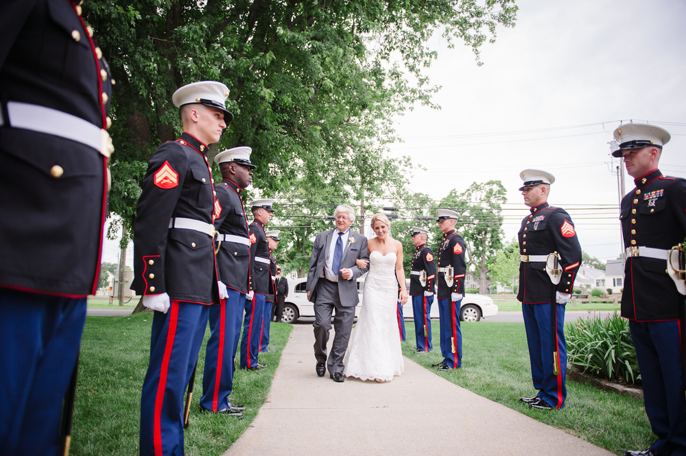 Amy Champagne Stratford military wedding