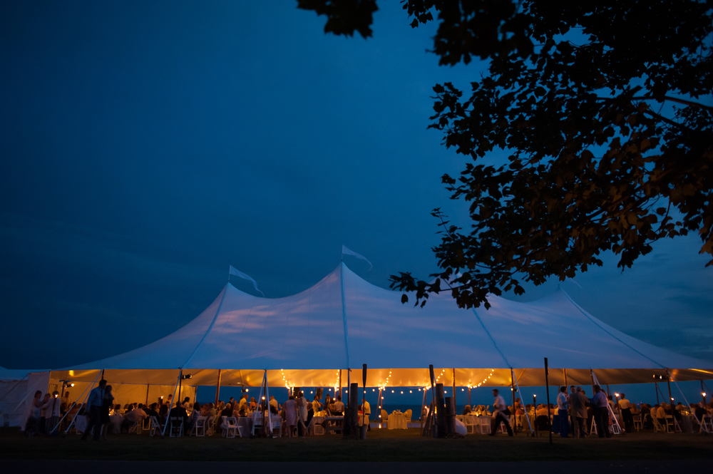 CT Wedding Planner Tented Wedding