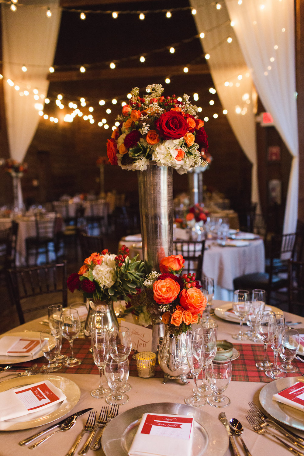 Amy Champagne autumn wedding