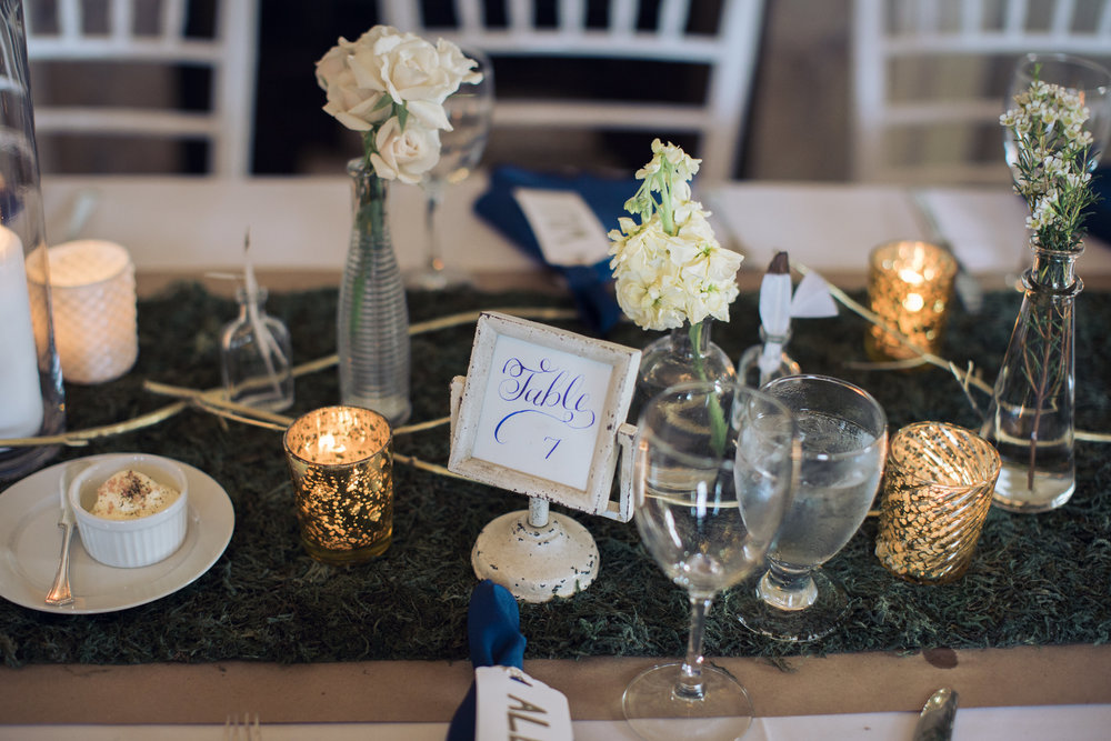 Amy Champagne Events CT Wedding Eolia Mansion DIY Table