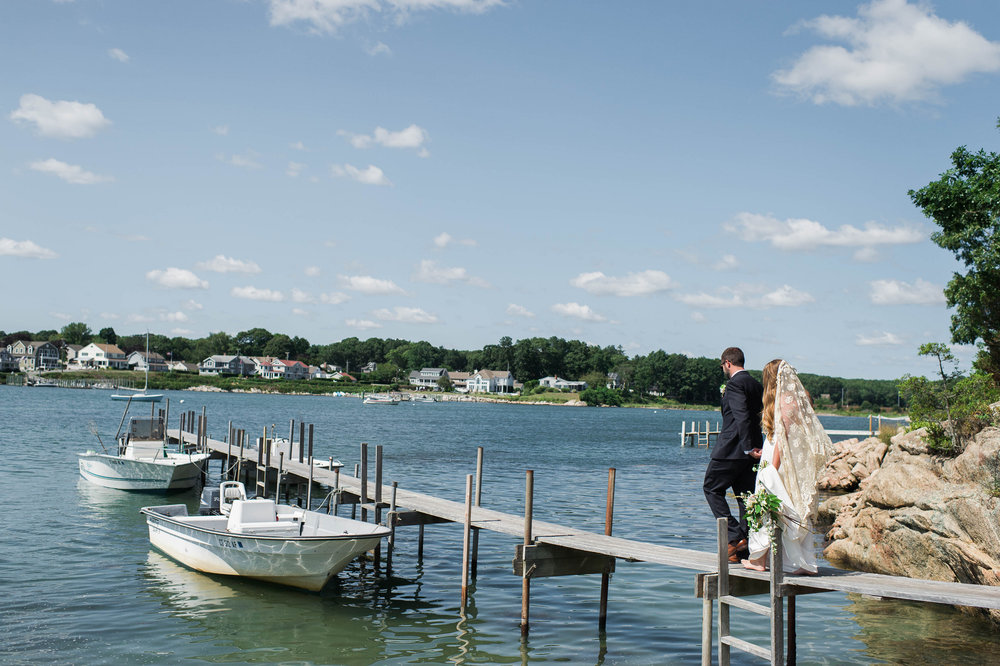 Amy Champagne Events CT Wedding Private Island Niantic CT