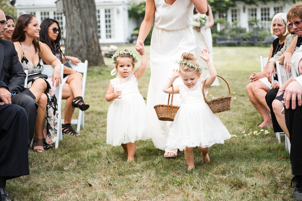 Amy Champagne Events CT Wedding Flower Girls