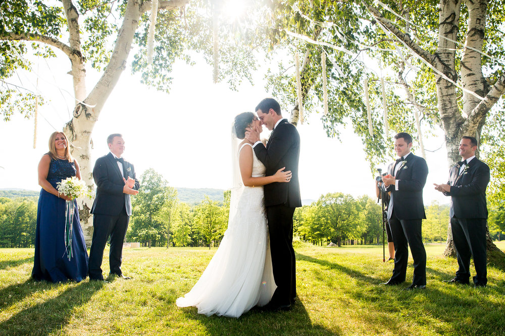 RW: Black Tie Tented Wedding - Early Summer