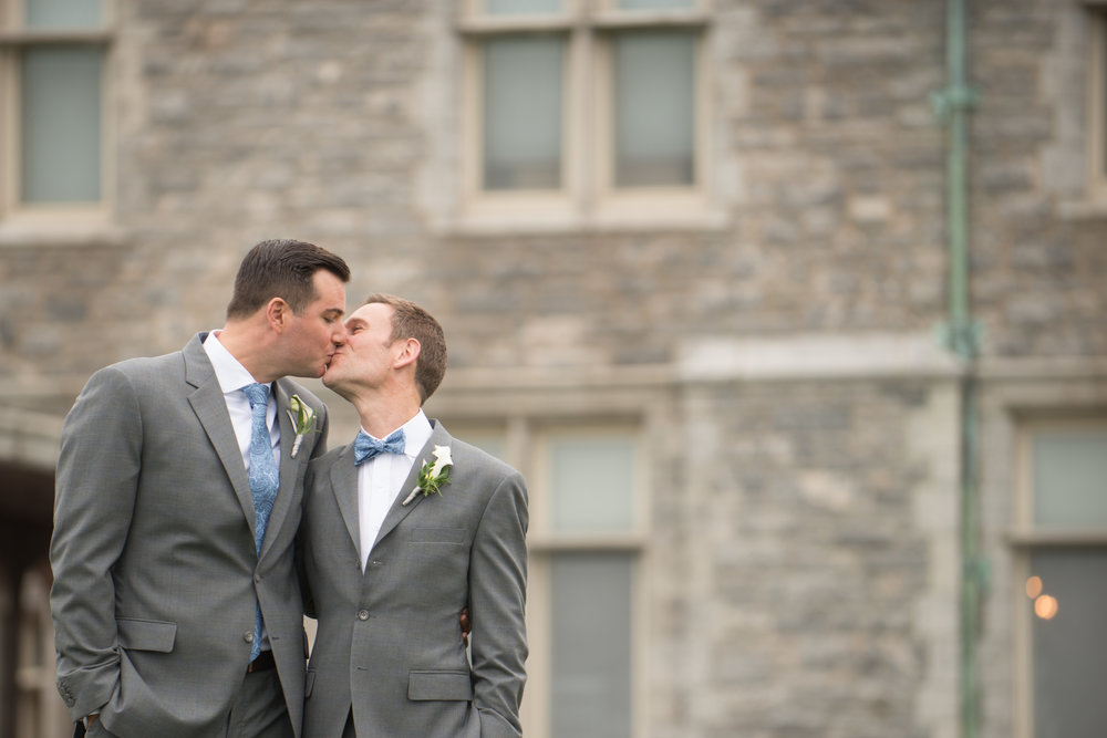 RW: Silver & Blue Mansion Wedding - Fall