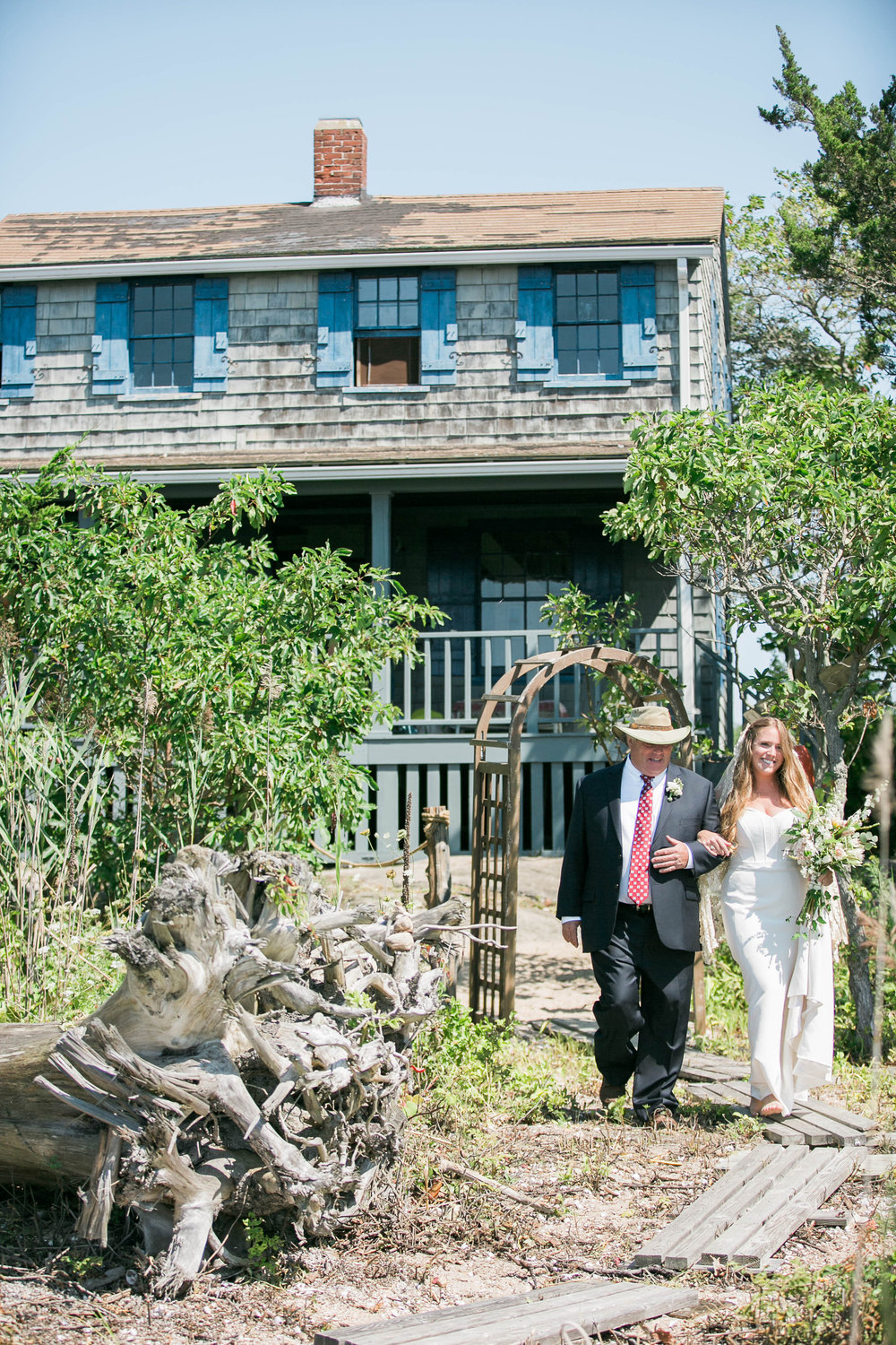 Amy Champagne Events Ally and Doug Real Wedding Private Island Summer Wedding