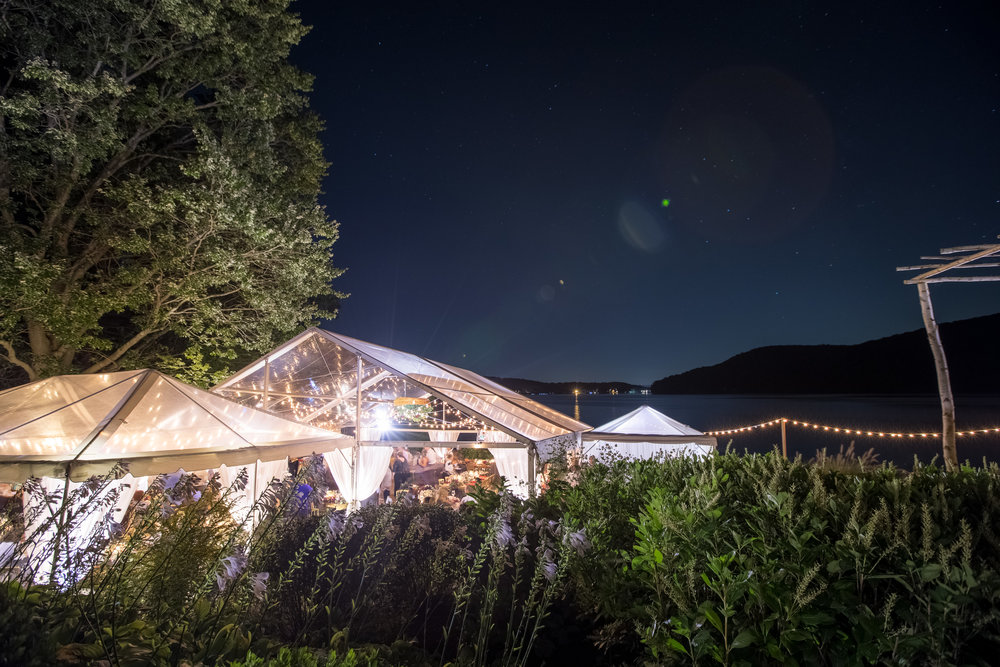 Candlewood Lake Wedding Clear Tent CT100.JPG