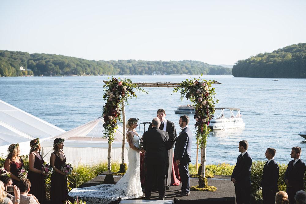 Candlewood Lake Wedding Clear Tent CT054.JPG