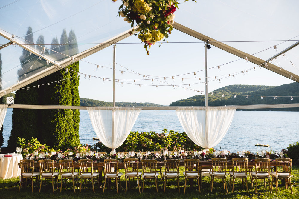 Candlewood Lake Wedding Clear Tent CT077.JPG