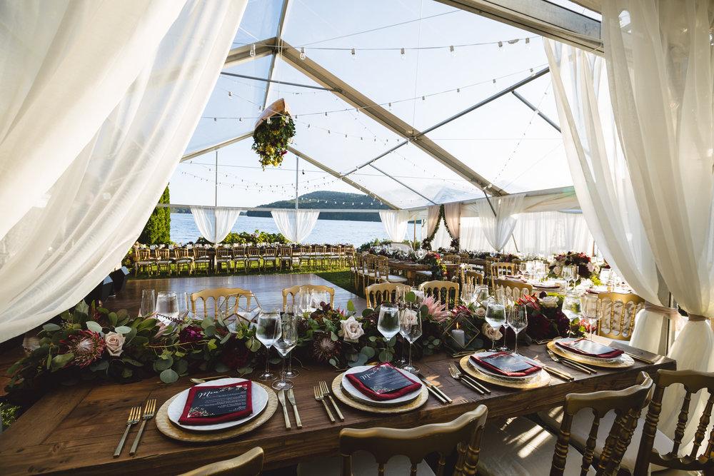Candlewood Lake Wedding Clear Tent CT081.JPG