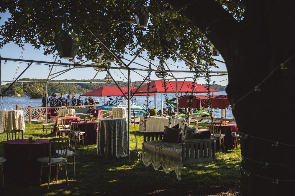 Candlewood Lake Wedding Clear Tent CT034.JPG