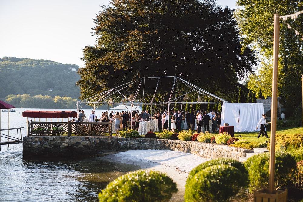 Candlewood Lake Wedding Clear Tent CT076.JPG