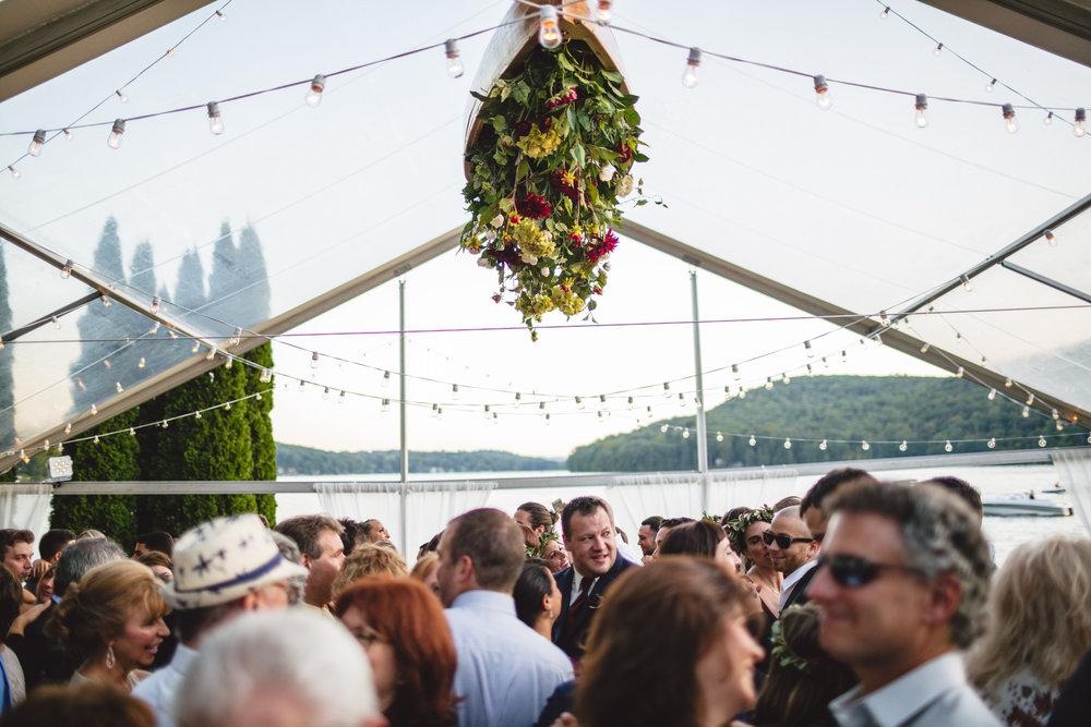 Candlewood Lake Wedding Clear Tent CT091.JPG