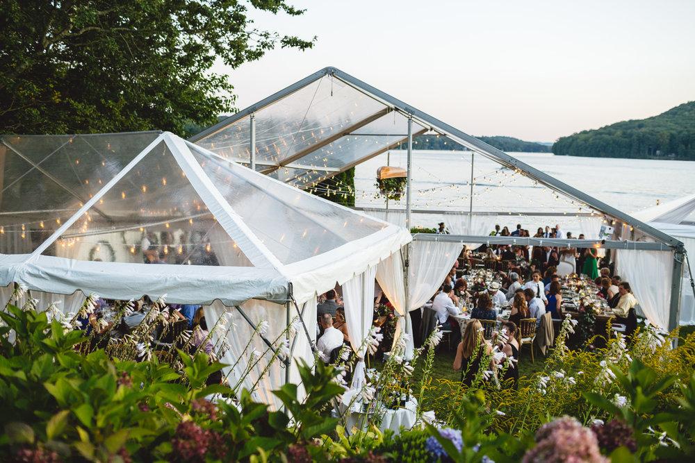 Candlewood Lake Wedding Clear Tent CT092.JPG