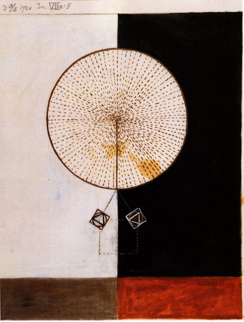 painting above by Hilma af Klint
