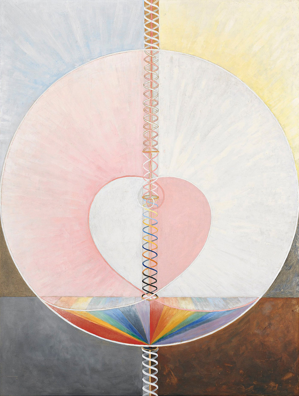 Artist & Mystic:  Hilma af Klint   The Dove, No.1 (1915)
