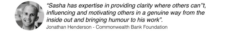 Jonathan Henderson Commonwealth Bank CBA CommBank