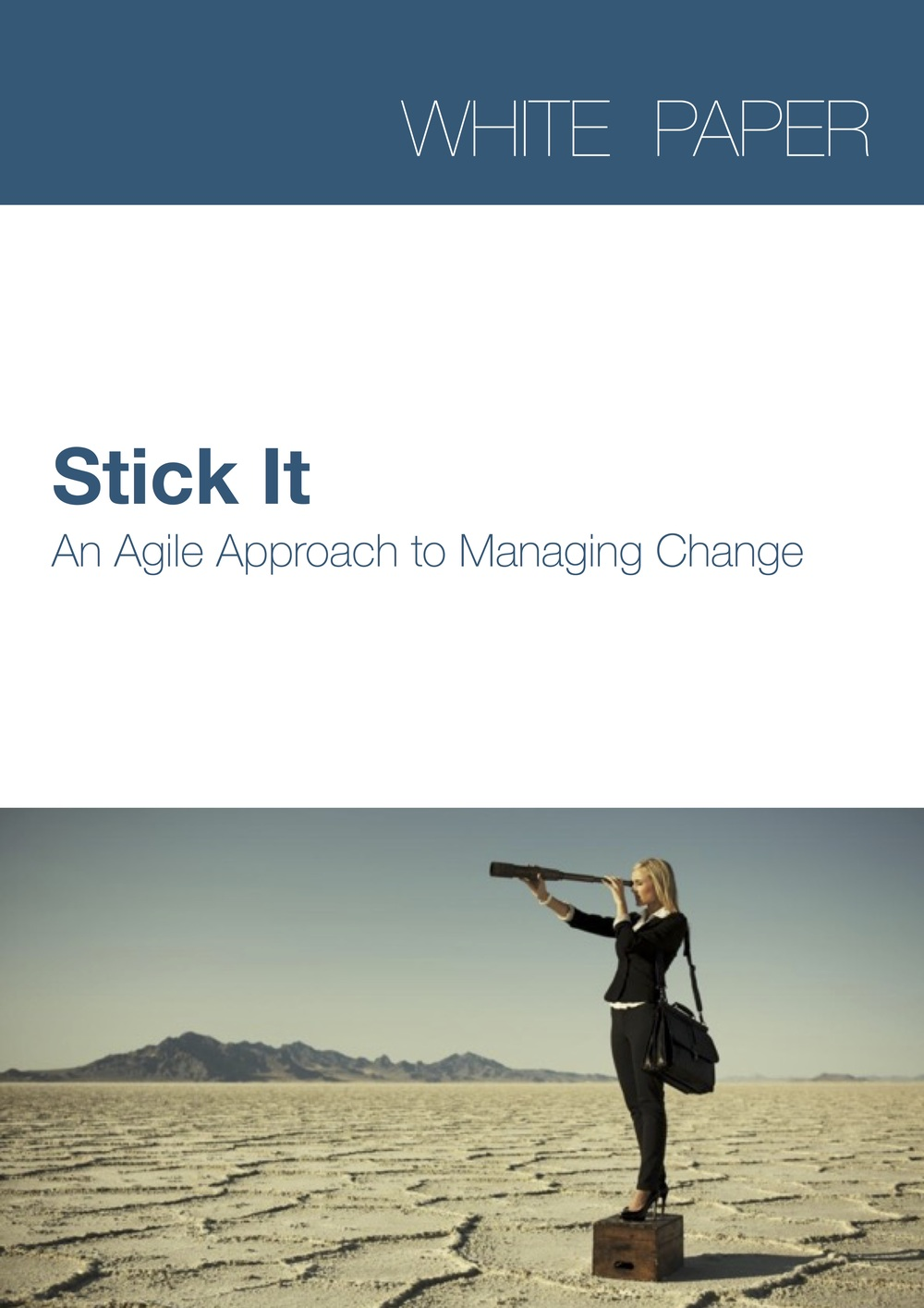 Stick It An Agile Approach To Managing Change Sasha Jovanovic